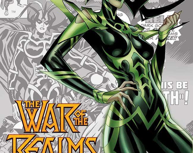 J. Scott Campbell War of the Realms #1
