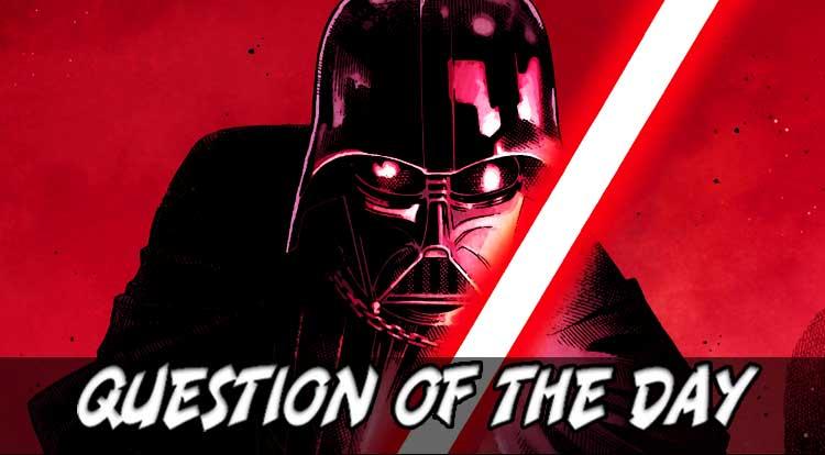 Darth Vader QOTD