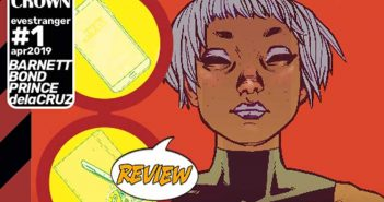 Eve Stranger #1 Review
