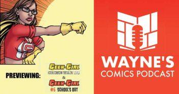 Wayne Hall, Wayne's Comics, Pit Bull, Ruby, Sam Johnson, Geek-Girl, Markosia,