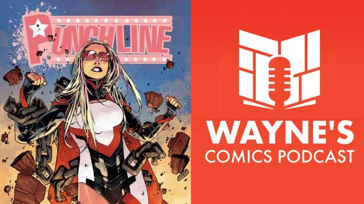 Wayne Hall, Wayne's Comics, Punchline, Bill Williams, Matthew Weldon, Mel, Jessie, Sawtooth, shark,
