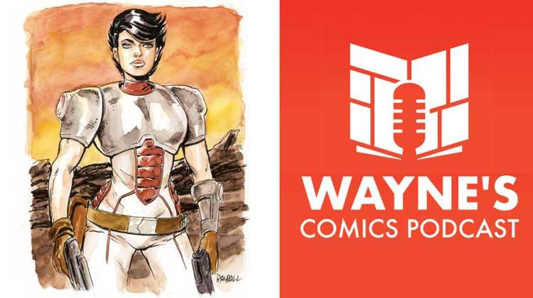 Wayne Hall, Wayne's Comics, Trekker, Ron Randall, Mercy St. Claire, Molly, Battlefields, Darkstar Zephyr, Rites of Passage, Dark Horse, Chapeltown, Scufprint Press