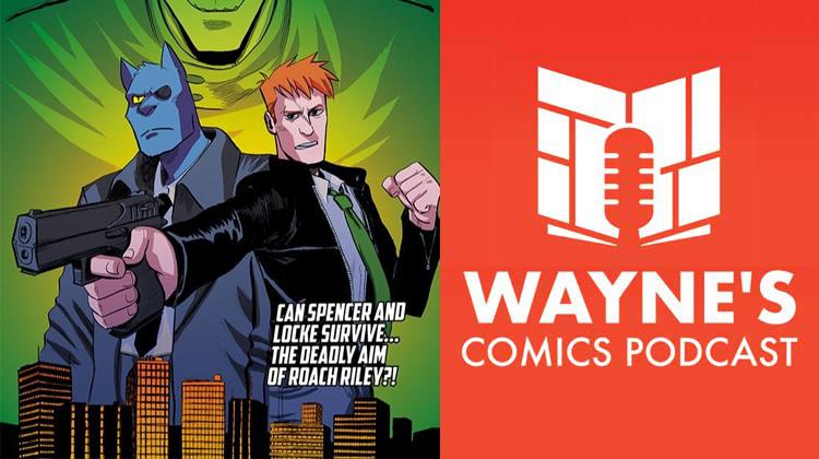 Wayne's Comics, Wayne Hall, David Pepose, Spencer, Locke