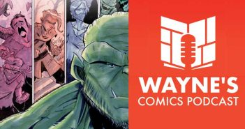 Wayne Hall, Wayne's Comics, Salvagers, Bob Salley, Source Point Press, Jasper's Starlight Tavern, Shelter Division, Bigfoot, Broken Gargoyles, Ogre, Ogres,