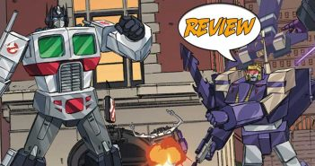 TTransformers/Ghostbusters #3 Review