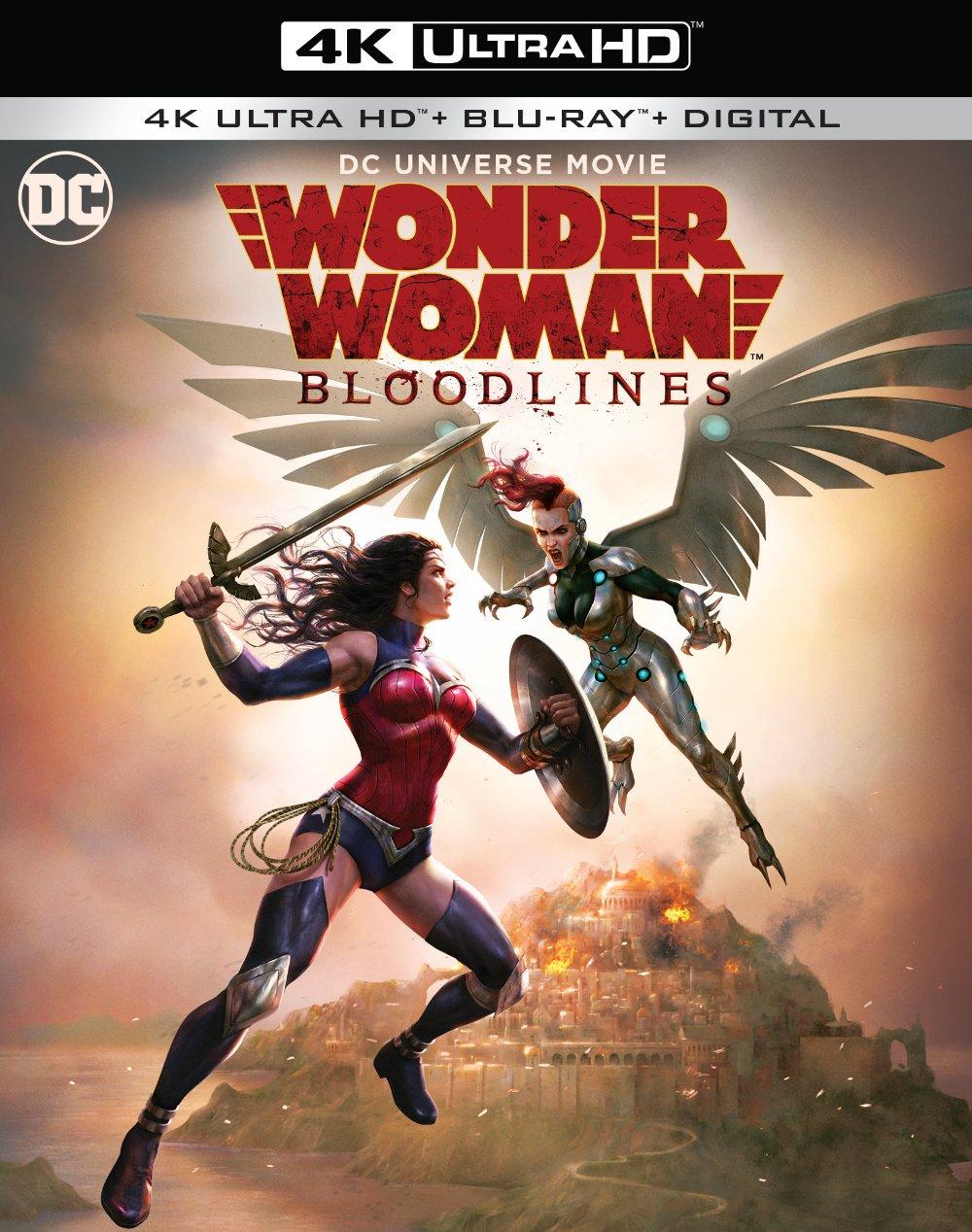 Wonder Woman Bloodlines Trailer