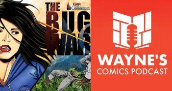 Wayne Hall, Wayne's Comics, Ed Jowett, Shades of Vengeance, Violet, Kickstarter, Johnathan Lewis, Bug War, Hai-Xang Hayden, Consortium,