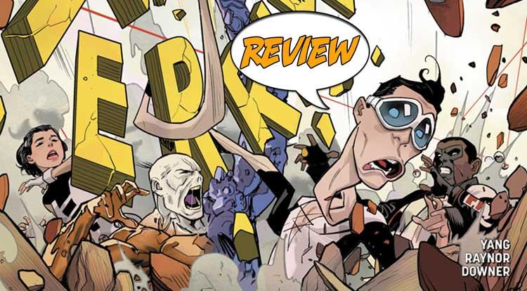Terrifics #19 Review