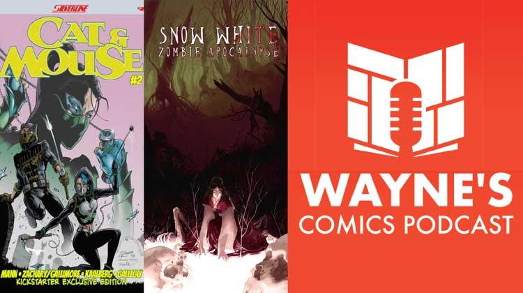 Wayne Hall, Wayne's Comics, Alex Gallimore, Roland Mann, Barb Kaalberg, Kevin Gallegly, Snow White, Zombie, Apocalypse, Scout Comics, Hyeondo Park, Cat & Mouse, fairy tale,
