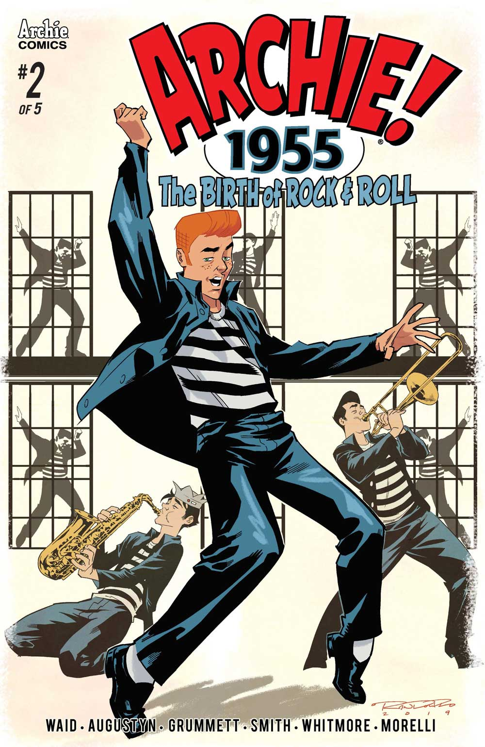 First Look] Archie 1955 #2 — Major Spoilers — Comic Book Reviews ...