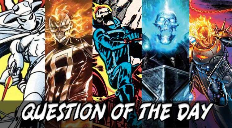 #1 Ghost Rider QOTD
