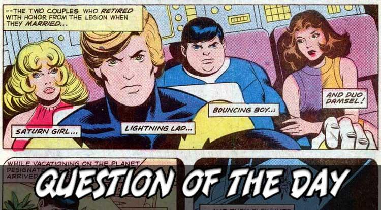 Maried Superheroes QOTD