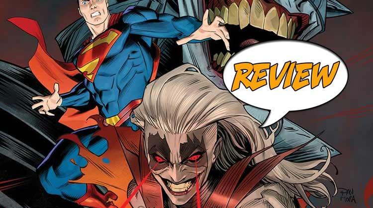 Batman, Superman, Batman Who Laughs, Supergirl, infected, Hawkman, Blue Beetle, Shazam!, Krypton, Marc Andreyko, Eduardo Pansica, Chris Sotomayor, Jessica Chen