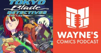 Wayne Hall, Wayne's Comics, Todd Black, Tokyo Blade Detectives, Kickstarter, gun, blade, Miko, Michio, Japan, Lam Vu Van, David Hayes, Rottentail, anime,