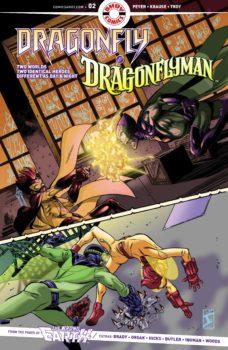 Dragonfly and Dragonflyman #2