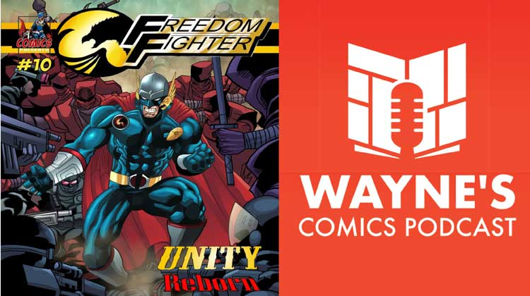 Wayne Hall, Wayne's Comics, Freedom Fighter, A.J. Fulcher, Michael Heitkemper, Indie, Acts of Contrition,