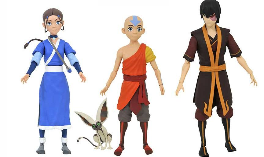 Diamond Select Toys Avatar Action Figures