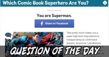 Comic Book Hero Match QOTD