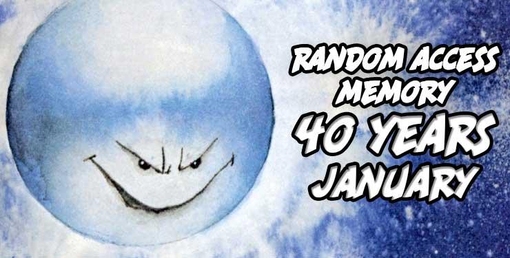 Random Access Memory January 2020