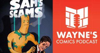 Wayne Hall, Wayne's Comics, Atheris Entertainment, Atheris Publishing, Andrew Birkett, Sam's Scams, Kickstarter, Logards, environment, trash, pop tops, Jerry, Rollerb Geriatric, Earl,