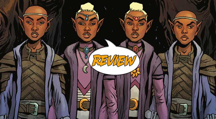 Dungeons & Dragons: A Darkened Wish #5 Review