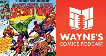 Wayne Hall, Wayne's Comics, John Beatty, Mike Zeck, Secret Wars, Captain America, inker, inking, Marvel, YouTube, Batman, comic conventions, cons, comics, comic books,
