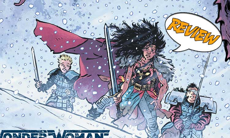 Wonder Woman: Death Earth #2 Review