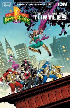 Power Rangers/Teenage Mutant Ninja Turtles #4