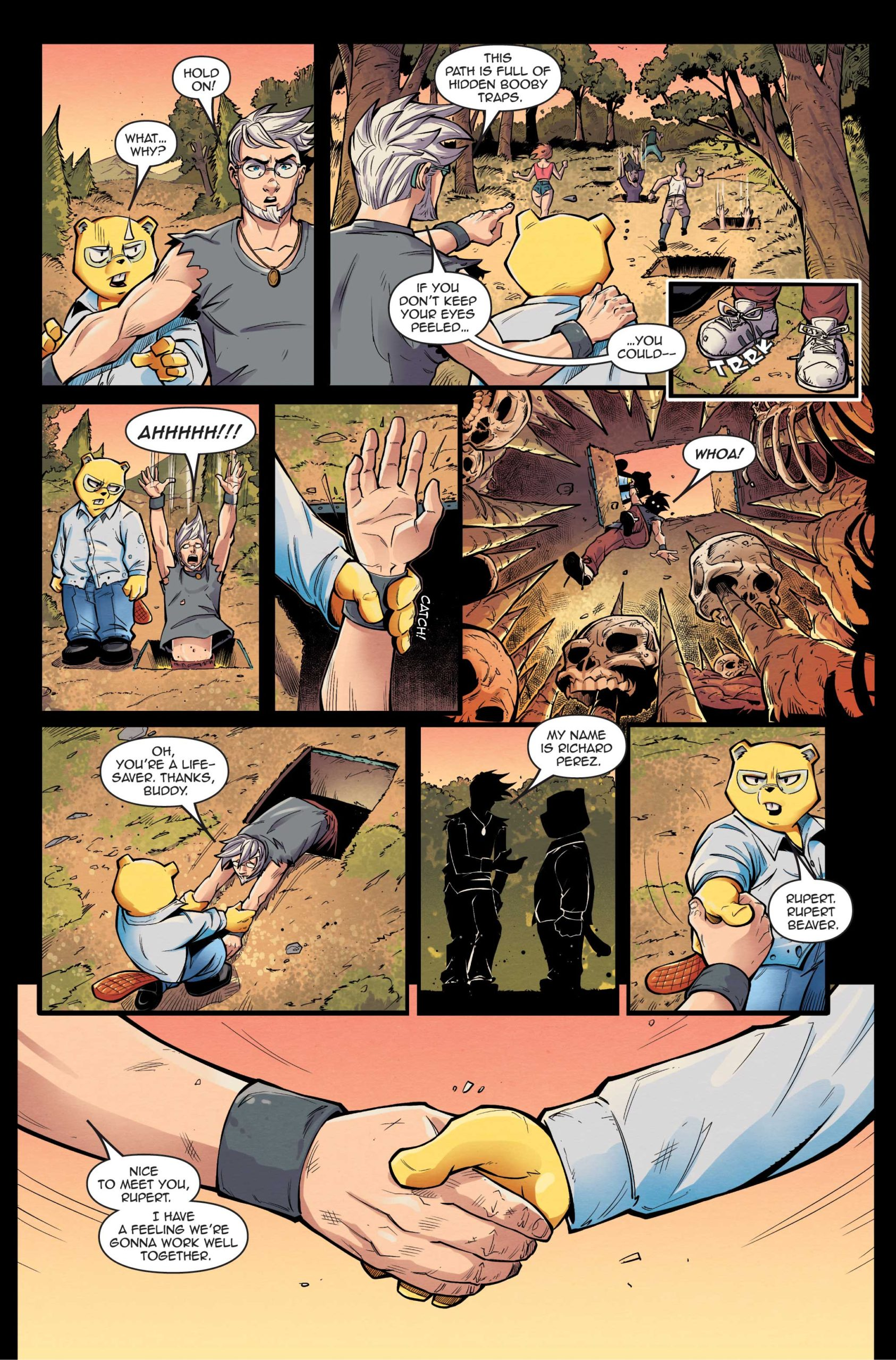 Preview] Mr. Beaver #2 — Major Spoilers — Comic Book Previews