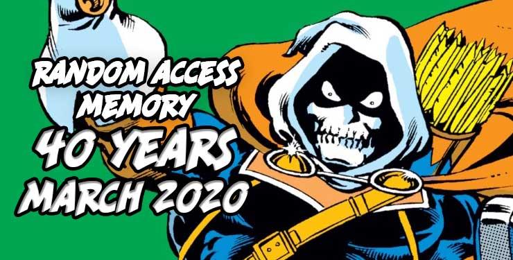 Random Access Memory March 2020