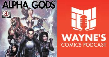 Wayne Hall, Wayne's Comics, Alpha Gods, Hero 9 to 5, Hypergirl, Flame-O, superhero, Markosia, Luke Cooper, Hollow Girl, Sam Johnson, Geek-Girl, Ruby Kaye, UK,