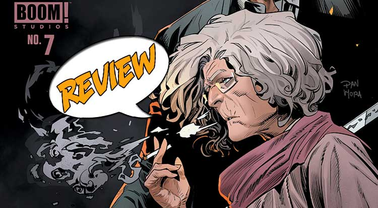 Once and Future #7 Review
