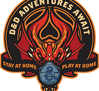 DND Stay Home Play At Home