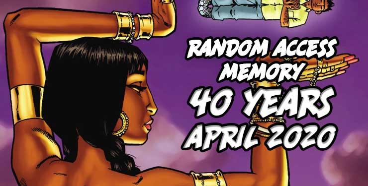Random Access Memory April 2020
