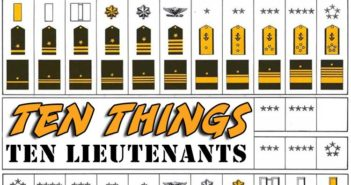 Lieutenants Ten Things