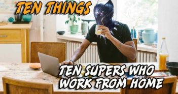 Work From Home Ten Things