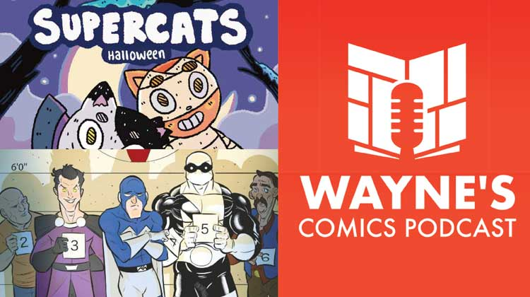 Two interviews this week on the Wayne's Comics Podcast. Wayne interviews Caleb Thusat and Louis, Southard.