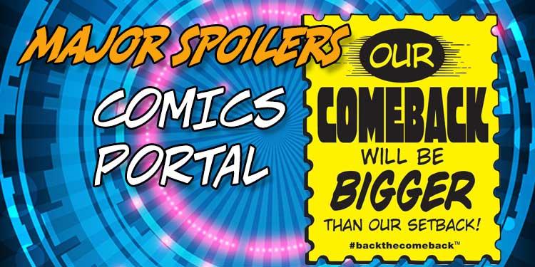 Comics Portal We're Back