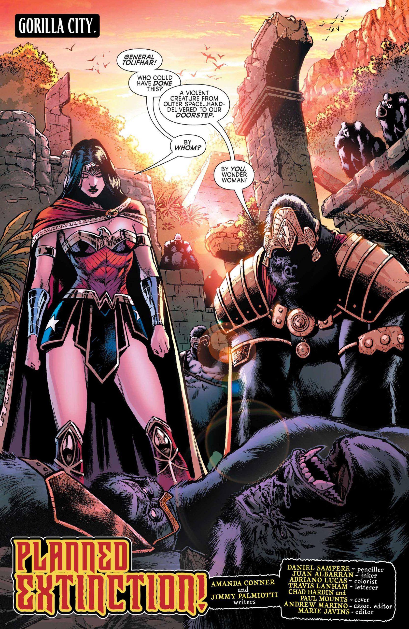 Wonder Woman: Agent of Peace #3