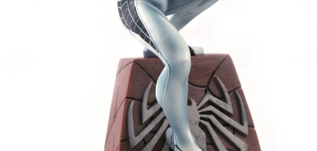 Negative Suit Spider-Man Statue