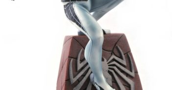 Negative Suit Spider-Man Statue