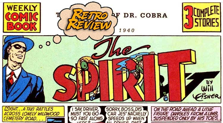 THE SPIRIT SECTION (JUNE 2, 1940) Review