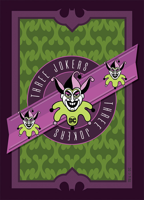 Three Jokers Playing Cards
