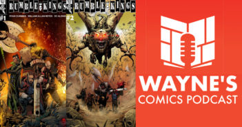 Wayne Hall, Wayne's Comics, Rumble Kings, Millennium, Once in a Lifetime Heroes, Heavy, Rayna, Bastard Queen, Ryan Cummins, Jason Webb, Raleigh, Arlo, Marek, Garven, William Allen Reyes, DC Alonso, Toben Racicot, Yori, Death Metal Funk Eagle, Justin Birch, Guardian, Ghost, Madam Mid-Nite, Black Death, Witchmother, Professor Hogue,