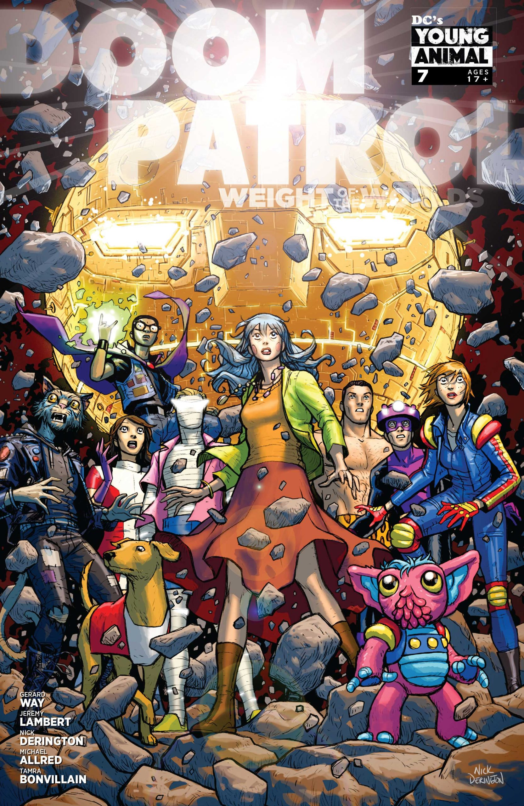 Doom Patrol Weight of the worlds #7