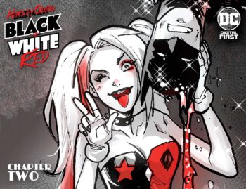 Harley Quinn: Black and White and Red #2