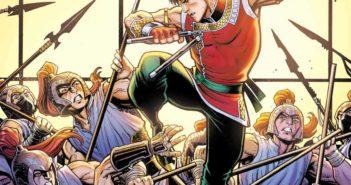 Shang-Chi #1 variant Cover