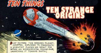 Ten STrange Origins Ten Things