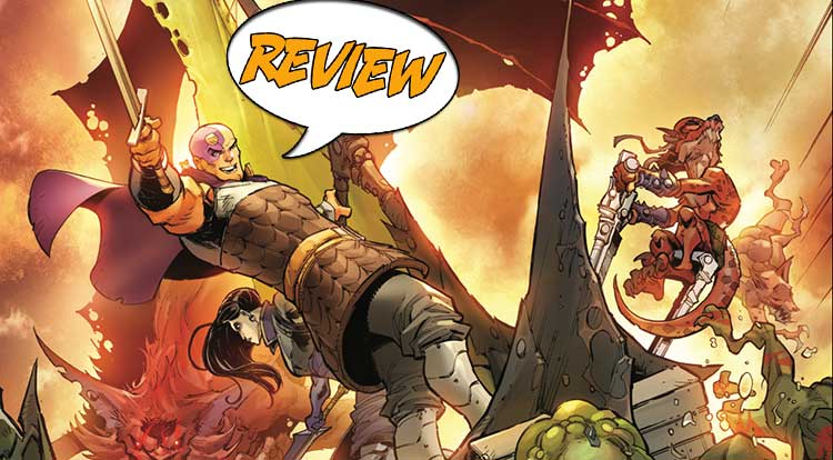 Dungeons and Dragons: Infernal Tides #4 Review