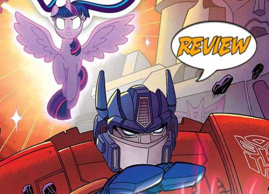 My Little Pony/Transformers: Friendship In Disguise #1 (of 4) Review